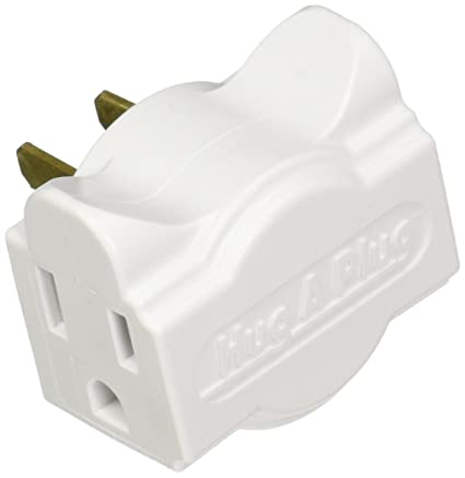 Marvelous Amazon Com Hug A Plug Dual Outlet Wall Adapter Twin Pack White Wiring Cloud Hisonuggs Outletorg