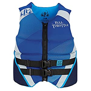 Full Throttle Neoprene Flex-Zone Life Jacket, X-Large, Blue