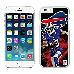Buffalo Bills stevie-johnson Case For iPhone 6 Plus White 5.5 inches