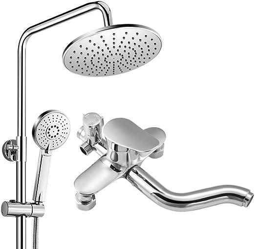 Columna de ducha, kit | Espejo super grande superior + ahorrador ...
