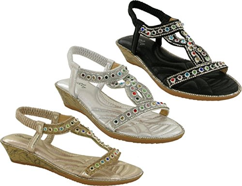 Dorado Toe Sandal Open New Back Party Sling Strictly Ladies SFHSP