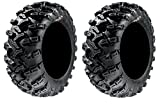 Pair of GBC Grim Reaper Radial (8ply) ATV Tires [25x10-12] (2)
