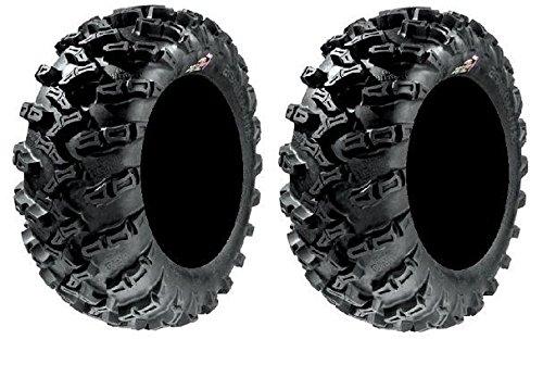 Pair of GBC Grim Reaper Radial (8ply) ATV Tires [25x10-12] (2) by Powersports Bundle (Image #2)