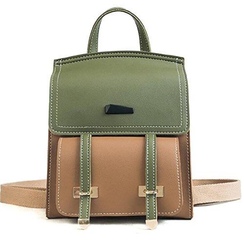 Fashion Leather Women's Soft Handbag 23cm Bag Backpack pu 19 function Casual Multi 9 TBpwnFqTO