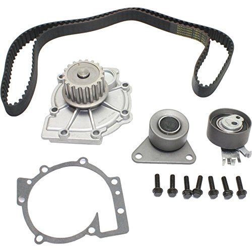 - Timing Belt Kit Water Pump compatible with 1998-2007 Volvo V70 S40 S80 S60 XC90 S70 DOHC Turbo