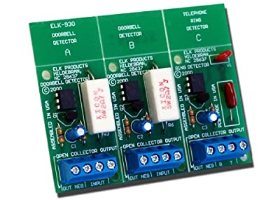 Elk ELK-930 Doorbell and Phone Ring Detector from ELK Products Inc