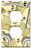 Outlet Cover Wall Plate - Music in the Air