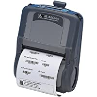 Zebra Ql 420Plus Direct Thermal Printer . Monochrome . Portable . Label Print . 4.09 Print Width . Peel Facility . 3 In/S Mono . 203 Dpi . Bluetooth . Usb . Serial . Battery Included . Lcd Product Type: Printers/Label/Receipt Printers