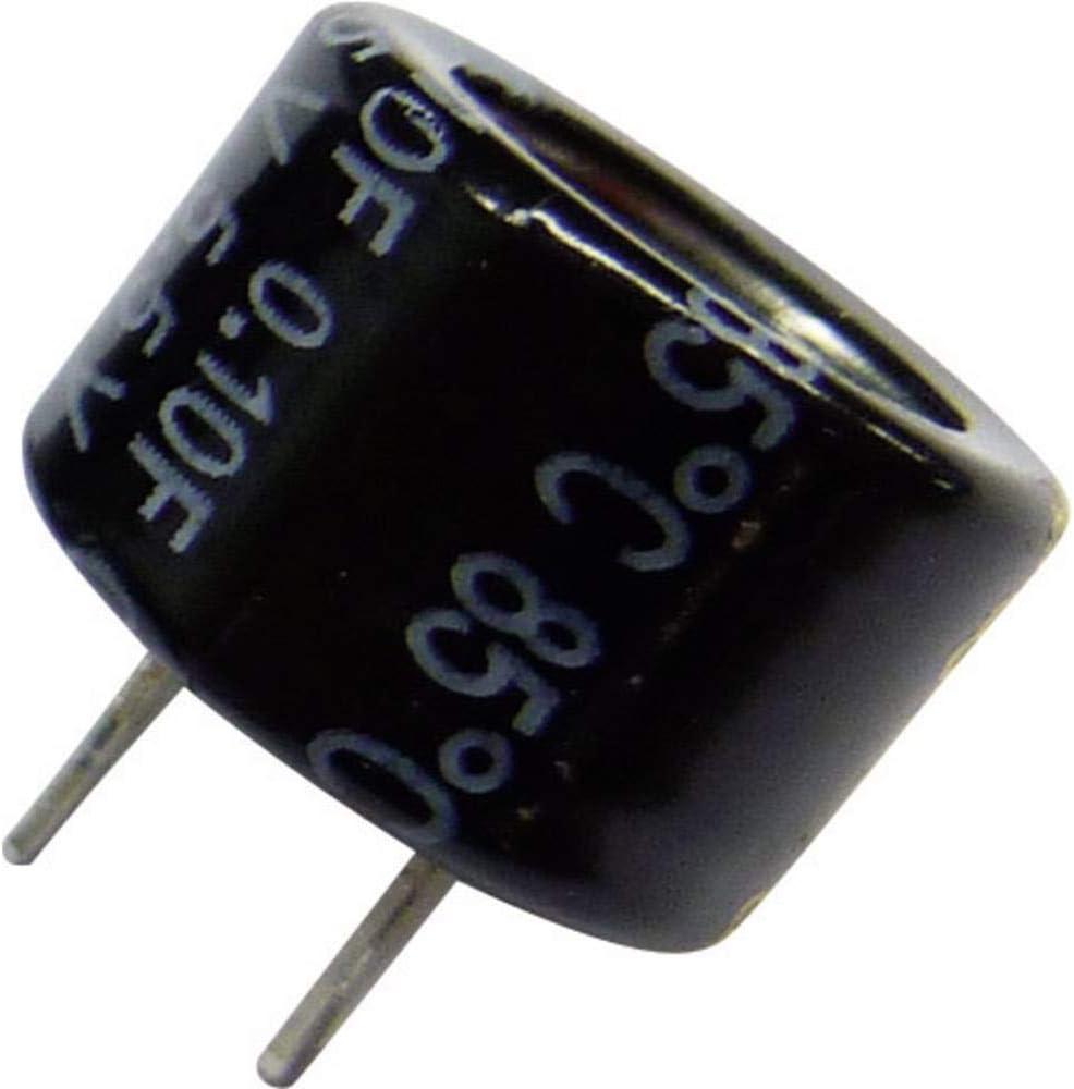 5x Goldcap Condensatore 0,47F 5,5V ; RM5 d21,5x9,5mm ; EECF5R5H474
