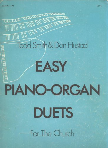 (Easy Piano-Organ Duets for the Church)