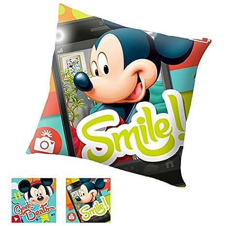 Cojin Mickey Disney Smile!: Amazon.es: Juguetes y juegos