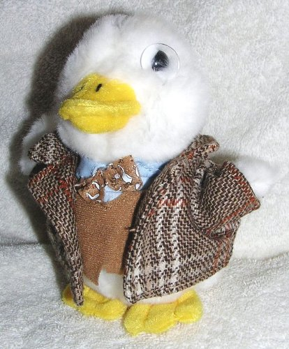 talking-6-plush-aflac-duck-professor-with-tweed-jacket-bow-tie-and-monicle