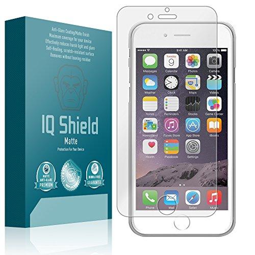 IQ Shield Matte Screen Protector Compatible with Apple iPhone 6 (Apple iPhone 6s 4.7 inch) Anti-Glare Anti-Bubble Film