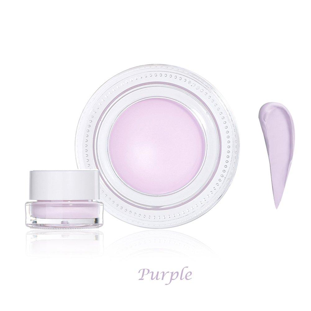 Huoju 8 couleurs crème de fond de teint parfaite et naturelle crème hydratante anti-cernes de contrôle pour différents types de peau (Café noir)