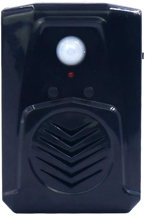 Replaceable Voice PIR Infrared Motion Sensor Screaming Box Speaker with USB Download Function Halloween MP3 Music Horror Voice Audio Speaker