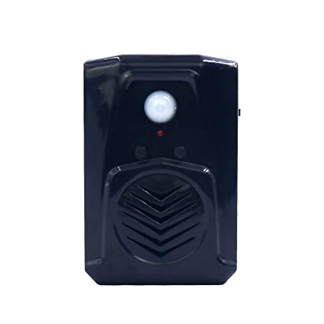 Recordable PIR Infrared Motion Sensor Scream Sound Box MP3 Halloween Music  Scary Voice Audio Speaker with USB Download Function