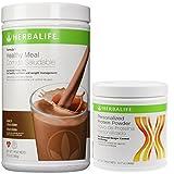 Herbalife Formula1 Nutritional Shake + Personalized Protein Powder (Dutch Chocolate)