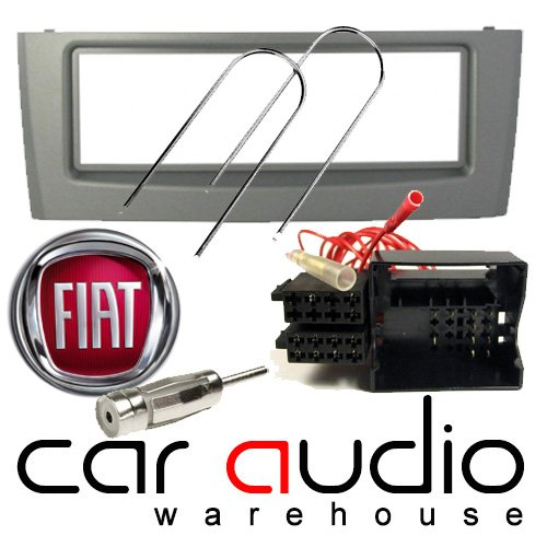T1 Audio Fiat Grande Punto (2005 onwards) Facia Pack - Includes a Grey Facia Adapter, Removal Keys, Aerial Adapter and ISO wiring harness.: Amazon.co.uk: Electronics