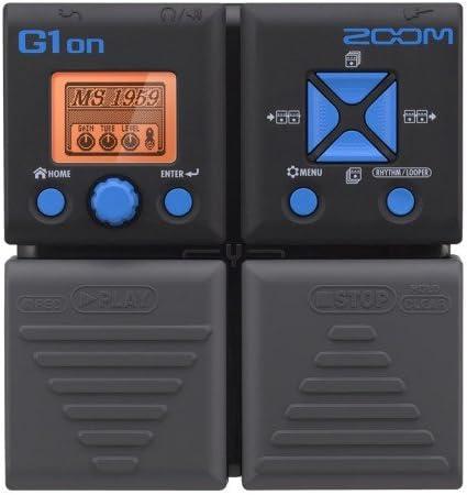 Pedalera multiefectos-zoom-g1 on: Amazon.es: Instrumentos musicales