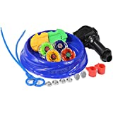 LEYAN New Beyblade Gyro Toy Fight Masters Metal Fight Fusion Constellation Battle Set