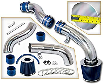 Stainless Steel Filter 03-08 Tiburon 2.7L V6 Blue Cold Air Intake