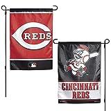 WinCraft MLB Cincinnati Reds 12x18 Garden Style 2 Sided Flag, One Size, Team Color