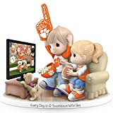 Every Day Is A Touchdown With You Clemson Tigers Precious Moments Figurine by The Hamilton Collection