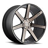 Niche M150 Verona 19x9.5 5x114.3 +35mm Black/Machined with Dark Tint Wheel Rim