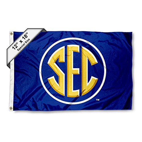 (SEC Conference Mini Flag and Boat Flag)