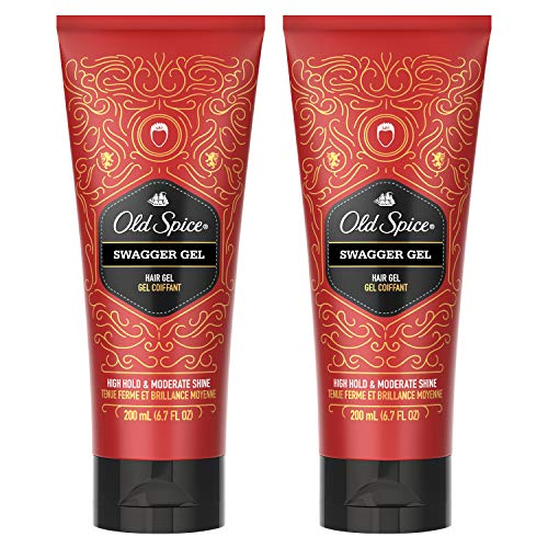 Old Spice Swagger Hair Gel For Men, Hair Treatment, 6.7 FL OZ (Pack of 2)