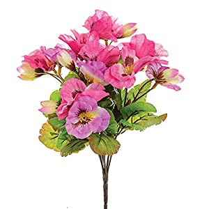 MARJON Flowers Pansy Bunch Small Pink 57