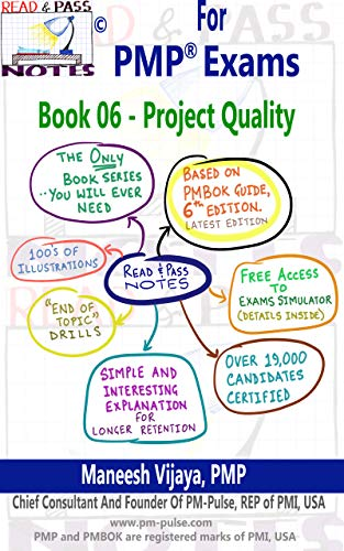 Amazon com: PMP Exams - Book 06 - Project Quality Management