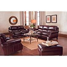 Ordinaire Grande Leather Sofa, Loveseat U0026 Recliner Chair