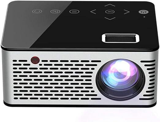 HKYMBM Proyector Micro LED Portátil, Proyector Mini Táctil Lente ...