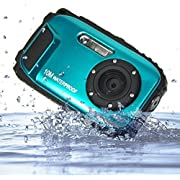 PowerLead BP88 Camera Waterproof Digital Video Camera 2.7 TFT Screen 5mp Underwater 9 Mega 8x Zoom Digital Camera