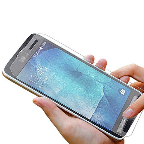Premium Panzerglas 9H Pro - Samsung Galaxy Xcover3 - Schutzfolie Hartglas Panzerglasfolie Handy Displayschutz Glasfolie Schutzglas Hartglasfolie Displayschutzfolie Smartphone