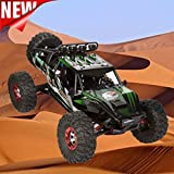 Excellent 1:12 High Speed Brushless motor High Capacity Battery RC Desert Off-Road Racing Truck Car Dreamyth (Green)