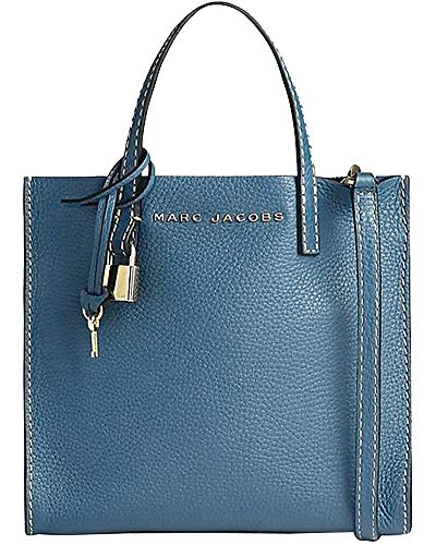 Marc Jacobs Leather The Mini Grind Tote Bag (Marc Jacobs Too Hot To Handle Drawstring Bag)
