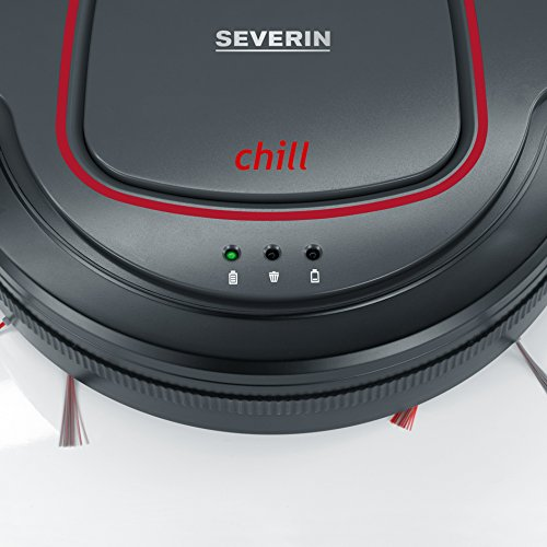 1d44b952568 Severin RB7025 Suction Robot Vacuum Cleaner - Grey