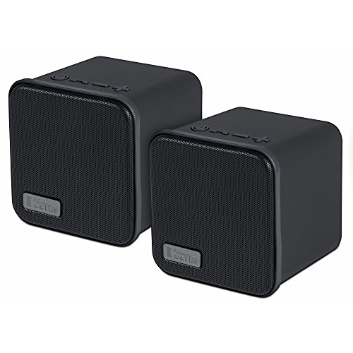 iHome Bluetooth Stereo Speaker Pair (IBT562BX)
