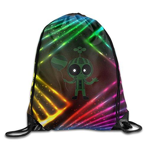 YYHU Phantom Balloon Boy Drawstring Backpack Bag Sack Bag - Great For Travel And Everyday Life (Halloween Costumes Portland Or)