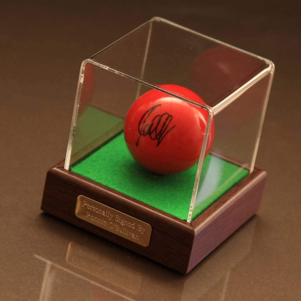 Ronnie O/'Sullivan Signed Autograph Snooker Ball Display Case Sport AFTAL /& COA