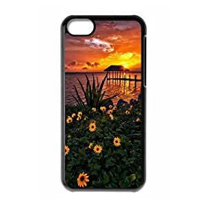 Sunset Phone Case For Iphone 5C [Pattern-1]
