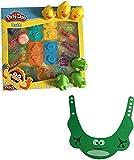 Bundle of Play-Doh Bath Soap Super Tool Set, Rubber Duckies, Rubber Frogs & Froggie Shampoo Hat