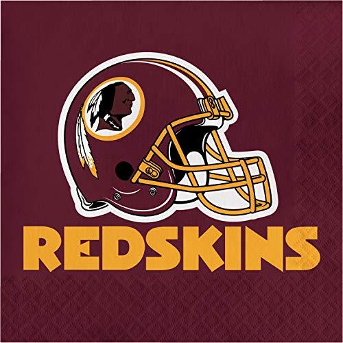 (Creative Converting Washington Redskins Napkins, 48 ct)