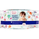 Unscented Baby Wipes in a Resealable Pack 80 ct - Bulk Case of 24