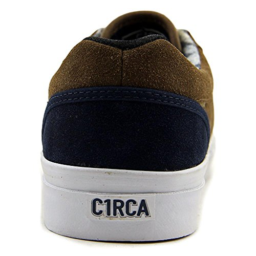 C1rca Gravette Durable Rembourré Skate Chaussure Moka / Robe Blues