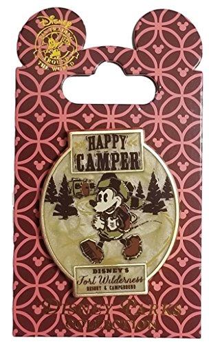 lderness Logo - Mickey Happy Camper (Disney Fort Wilderness Resort)