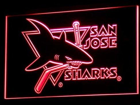 B100-r Sharks Bar Neon Light Signs