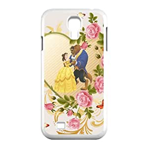 Samsung Galaxy S4 I9500 Phone Case Cover Beauty and the Beast ( by one free one ) B63070